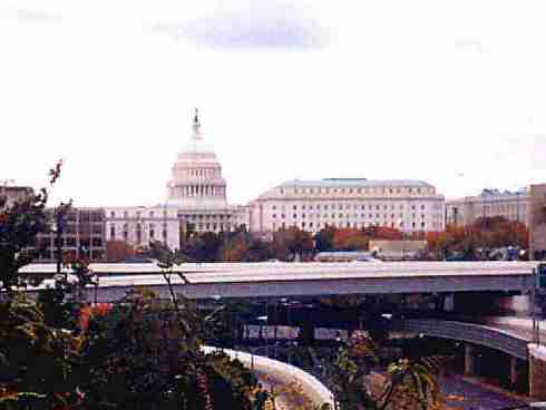 The US Capitol and House Office Buildings