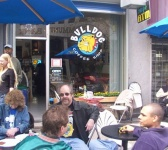 April 20 -- at the Bulldog Cafe in Oaksterdam